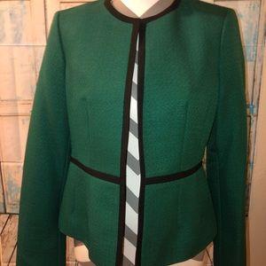 Black Label Evan Picone blazer - Christmas green 4